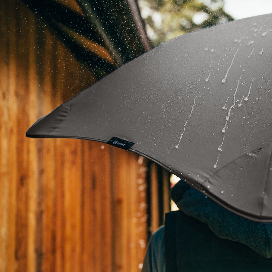 Product shot of the executive umbrella from the 3 in Black