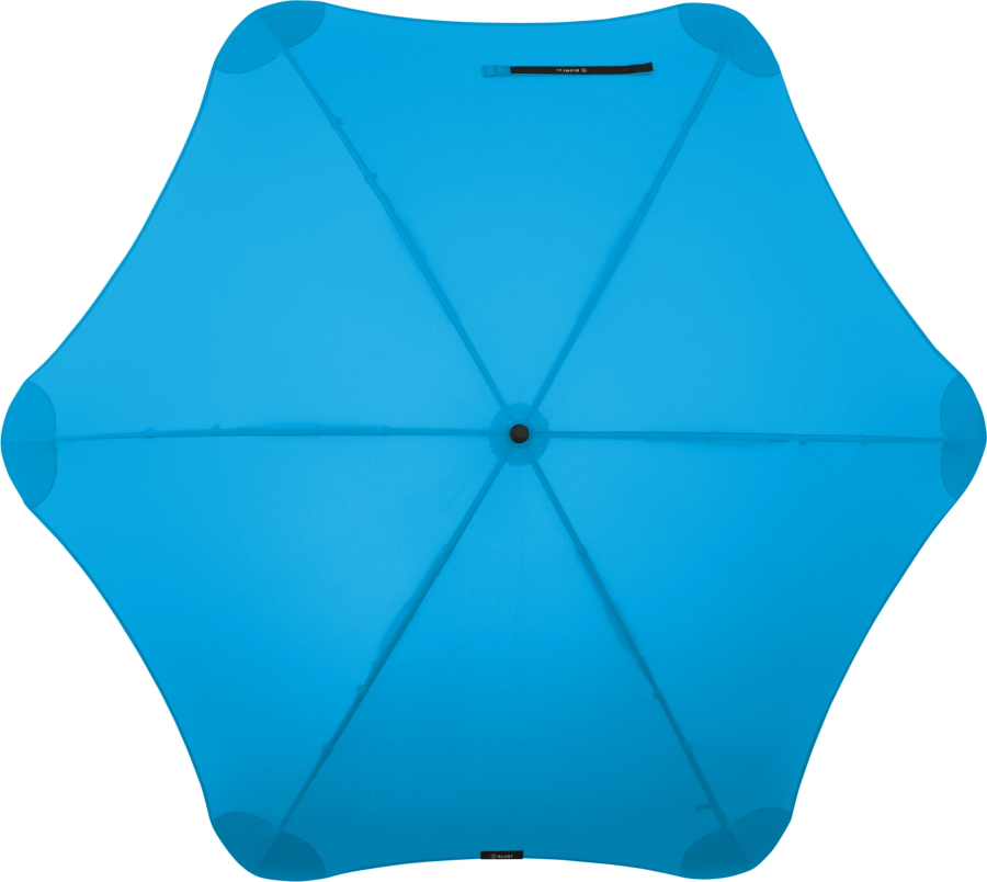 Product shot of the executive umbrella from the top in Blue