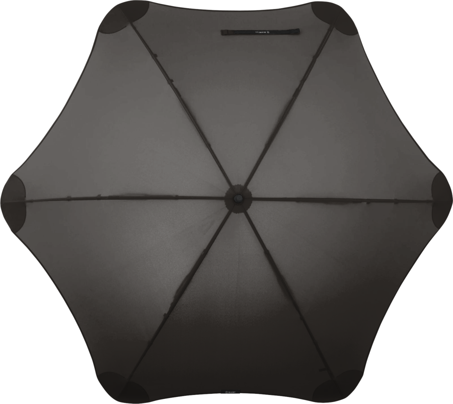 Product shot of the executive umbrella from the top in Black
